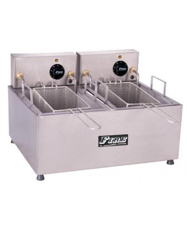 Fritadeira Elétrica de Mesa 02 cestos Separados 220V Fire - FE/DU