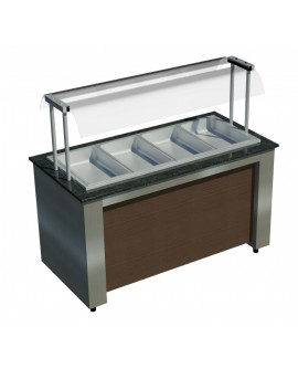Buffet Refrigerado Allkit para 06 GNs ½
